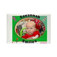 Savannah Smiles Rectangle Magnet