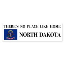 North Dakota Bumper Bumper Sticker