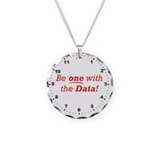 Data_Be_One_RK2010_WallClock Necklace
