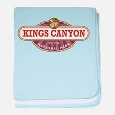 Kings Canyon National Park baby blanket