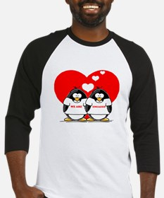 We Are Engaged Penguins Baseball Jersey