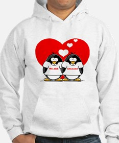 We Are Engaged Penguins Hoodie