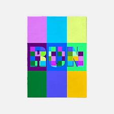 Run Squares 5'x7'Area Rug