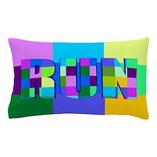 Run Squares Pillow Case