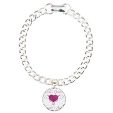 Heart_TeachersAid Charm Bracelet, One Charm