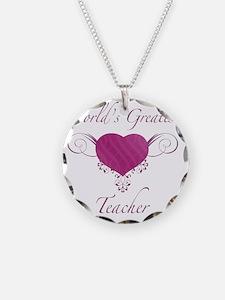 Heart_Teacher Necklace