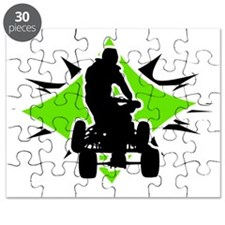 Quad_BlackGreen Puzzle