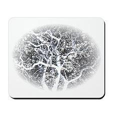 ghost tree dark Mousepad