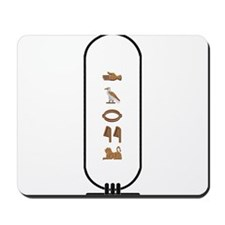 """Daryl in Hieroglyphics """"Color Mousepad"""