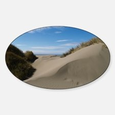 dune14by14poster Sticker (Oval)