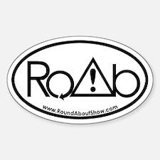 RoundAbout Shirt Pocket Logo - Blac Decal