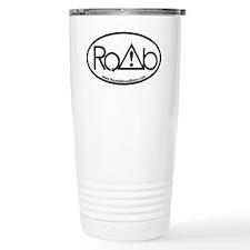 RoundAbout Shirt Pocket Logo -  Travel Mug