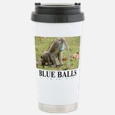 BLUE BALLS2 Stainless Steel Travel Mug
