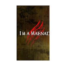 Maenad Journal Decal