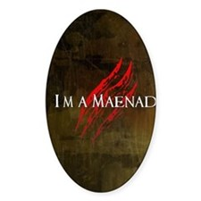 Maenad Journal Decal