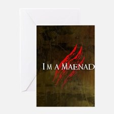 Maenad Journal Greeting Card