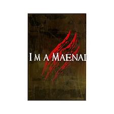 Maenad Journal Rectangle Magnet