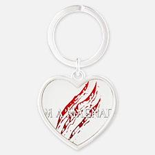 Maenad Hat Heart Keychain