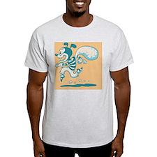 retro-dog-con-CRD T-Shirt