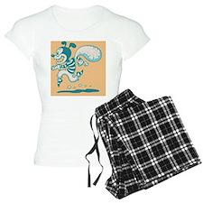 retro-dog-con-CRD Pajamas