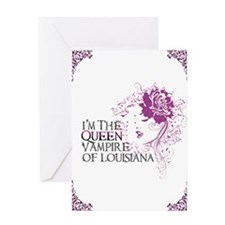 Queen Journal Greeting Card