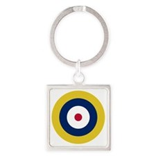 RAF Roundel - Type A1 Square Keychain