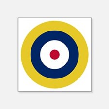 "RAF Roundel - Type A1 Square Sticker 3"" x 3"""