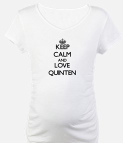 Keep Calm and Love Quinten Shirt