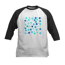 Polka dots - cool shades Baseball Jersey