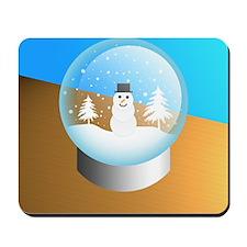 snowglobe Mousepad