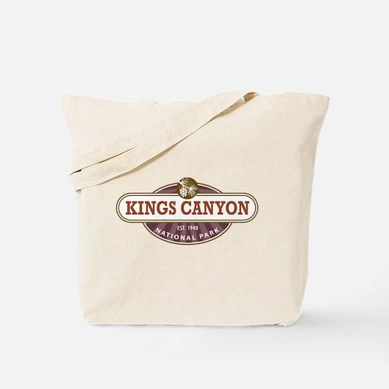 Kings Canyon National Park Tote Bag