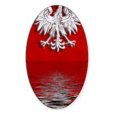 Polish Eagle Levitate iPhone 4 case Decal