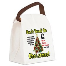 christ Canvas Lunch Bag