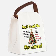 christ Canvas Lunch Bag