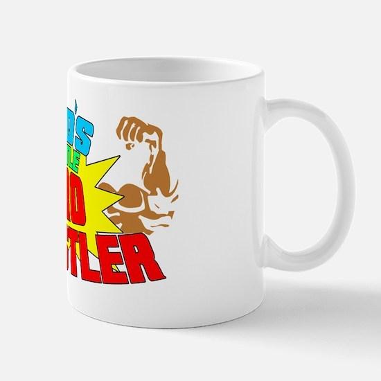Dads Little Pro Wrestler 01 Mug