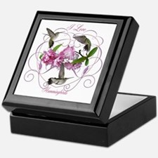 I love hummingbirds 2 Keepsake Box