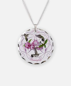 I love hummingbirds 2 Necklace