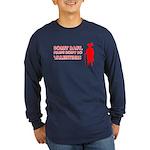 Valentine's Pimp Long Sleeve Dark T-Shirt