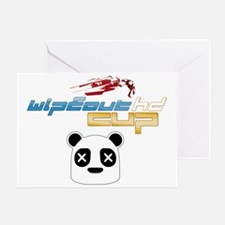 WipEout HD Cup back Greeting Card