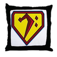 SuperBass Throw Pillow