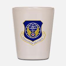 20th Air Force Shot Glass
