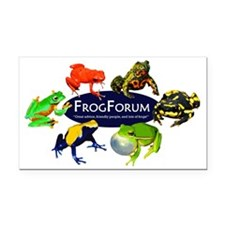 Frogforum.net T-Shirt - Logo  Rectangle Car Magnet