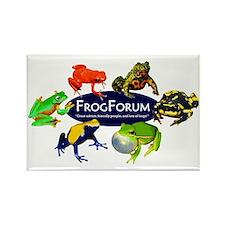 Frogforum.net T-Shirt - Logo 2.0 Rectangle Magnet