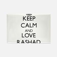 Keep Calm and Love Rashad Magnets