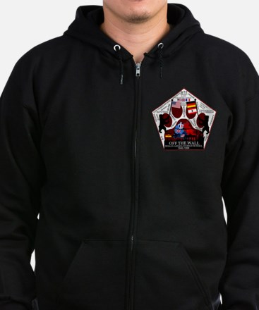 Rough Draft Patch16 Zip Hoodie (dark)