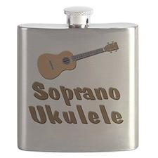 Soprano Ukulele Flask