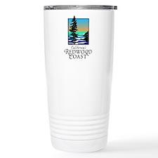 Californias Redwood Coast Travel Mug