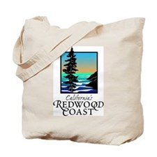 Californias Redwood Coast Tote Bag