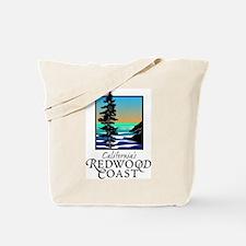Californias Redwood Coast Tote Bag