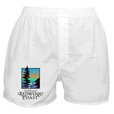 Californias Redwood Coast Boxer Shorts